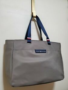 """NWT Tommy Hilfiger """"LODI""""  taupe large Tote Carry-on Weekender laptop Bag"""