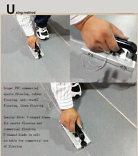 Safety Apply to Business Sports PVC Slotting Rubber Anti-static Linen Floor Tool