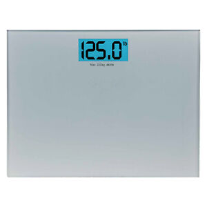 200kg Wide Platform Digital Bathroom Weight Scales X- Large Backlit LCD Display