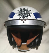 Vintage Motorcycle Helmet Leather Inside And Neck Cover 1960s Buco Bell Fulmer