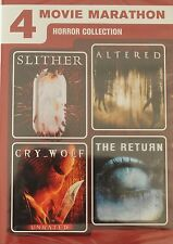 *BRAND NEW* 4 Horror Movies (DVD): Slither, Altered, Cry Wolf, The Return