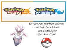 Pokemon Ultra Sun and Moon OCT14 GAME Diancie Event Pokemon