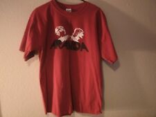 Aranda - Brothers - Large Red T-Shirt / Okla. Band / Hard Rock AOR