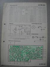 PHILIPS 22 rn513 Autoradio schema elettrico