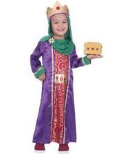 Kids Childs Boys King Wise Man Fancy Dress Costume Nativity Play Christmas Xmas