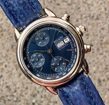 RIVADO Chronograph Automatic ETA Valjoux 7750 SWISS MADE Chrono Blau