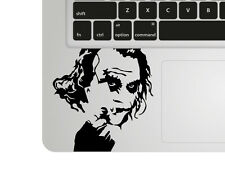 Batman Joker Macbook decal / Laptop palmrest sticker / Superhero stencil decal