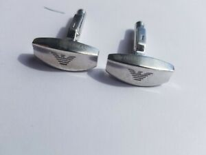 Emporio Armani, Sterling Silver Cuff-Links