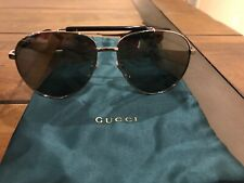 Gucci Sunglasses Aviator New