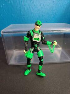 """4.5"""" Riddler Action Figure Toy ( Kenner 1995 DC Comics) Green & Black *"""