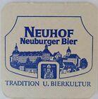 alter Bierdeckel NEUBURGER BIER, Neuhof 🍺 N-3