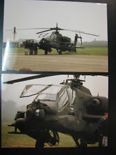 Photo US Army Boeing AH-64 Apache Open Dag KLu Vlb Volkel 1995 2x