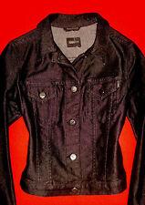 JOOP! JEANS DESIGNER JACKE JEANSJACKE BLACK DENIM BoHo 36 S NEU !!! TOP !!!