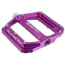 Burgtec Penthouse Flat Pedals MK5 Steel Axles - Purple Rain