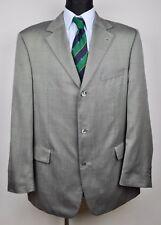 HUGO BOSS 30% Silk+Wool Grey Men's Blazer UK 46 Jacket Coat Suit 56 Eur Sakko Gr