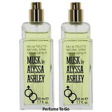 MUSK by ALYSSA ASHLEY for WOMEN 1.7 oz (50 ml) EDT Spray TESTER w/o CAP (1 or 2)
