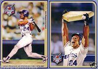 Rickey Henderson 2009 Hall of Fame HOF San Diego Padres 5x7 inch jumbo card RARE