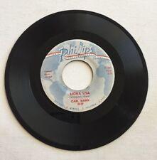 CARL MANN, MONA LISA, PHILLIPS#3539, RARE 45 RECORD, 1959