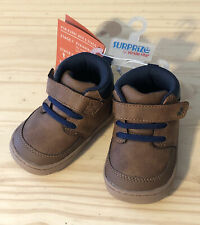 Stride Rite Surprize BRANLY Brown Boot Baby Toddler Shoes - Size 3 - NEW