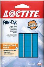 Loctite 1865809 2oz. Fun-Tak Mounting Putty Tabs, Blue Free Shipping