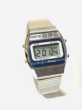 Vintage Square Time Melody Men's Lcd Alarm Chronograph Digital Wrist Watch(249M)