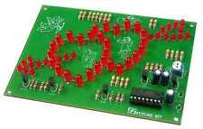 Twin Heart with Arrow Flasher 50 RED LEDs [ Unassembled Kit ]