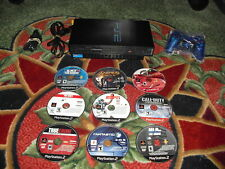 Sony Playstation 2 Console SCPH-30001 PS2 Console  with 9 games