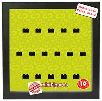 Magnetischer Setzkasten Vitrine für LEGO Minifiguren Motiv Serie 19