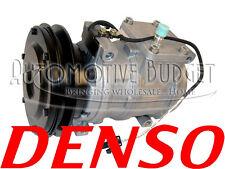 A/C Compressor w/Clutch for John Deere - 10PA17C 1GR 136mm 12v - NEW OEM