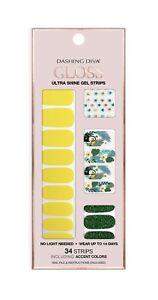 Dashing Diva Gloss Ultra Shine Gel Nail Strips 34 Strips Self Adhesive
