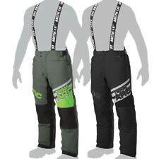Arctic Cat Men's Team Arctic Snowmobile Insulated Snow Bibs Pants - Green Black
