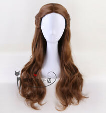 Beauty and the Beast Princess Belle Wig Long Wavy Brown Cosplay Wigs + Wig Cap