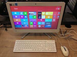 "Lenovo C355 white 20"" 1.5ghz 4GB 1TB Win 8, webcam, DVDRW"