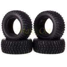 "4PCS RC 1:10 Pull Rally Car Off-Road 2.2"" Rubber Tires Tyre HSP HPI Tamiya 7007"