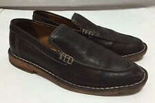 Cole Haan Venetian Driving Loafers Men's 9M Dark Brown Moccasins Nike Air Shoes