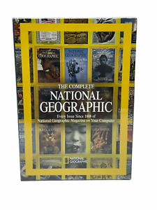 New & Sealed The Complete National Geographic Every Issue Since 1888 DVD-ROM