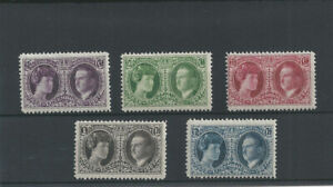 Postage Stamps Luxembourg 1927 187/191- Exposition Philatélique Luxembourg - MNH