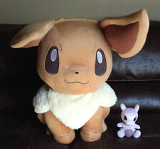 "Pokemon HUGE 86 cm 35"" I love Eevee plush doll Japanese lottery only 20 exist"