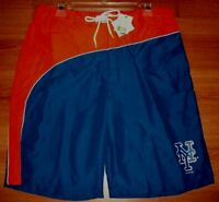 New York Mets Bathing Swim Suit XL Trunks Shorts MLB