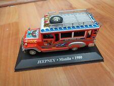 IXO ALTAYA 1/43 - JEEPNEY MANILA 1980 TAXI DIECAST MODEL CAR