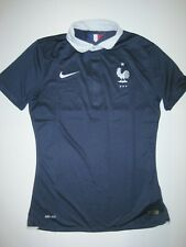 2014 World Cup France Nike Authentic Match Home Kit Shirt Jersey Les Bleus