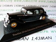 PR17T voiture1/43 norev présidentielle : CITROËN Traction 15 six Limousine COTY
