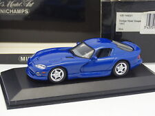 Minichamps 1/43 - Dodge Viper Coupe 1993 Azul
