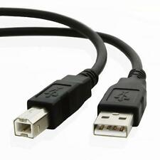 3 Mètres USB 2.0 A à Imprimante Câble pour Hp Lexmark Canon Epson Smartpro Noir