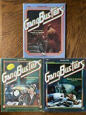 Gangbusters - TSR - Lot Of 3 - GB1,2,5