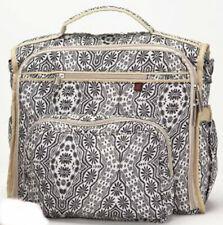 Skinly élégant sac à langer pour tout porter Noir et Blanc