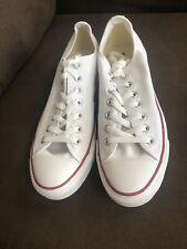 Converse AS Optic White Canvas Low Sneakers #M7652 Unisex Size Men's 11.5