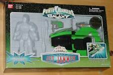 POWER RANGERS GREEN JET JAMMER BOX & VEHICLE - INCOMPLETE