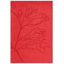 RVR 1960 Biblia Tamaño Personal, capullos naranja símil piel