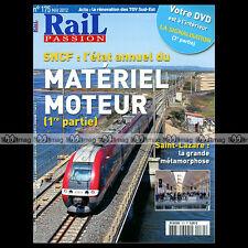 RAIL PASSION N°175 RVB NICE-LINGOSTIERE, GARE SAINT-LAZARE, TGV SUD-EST, Z-2N
